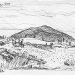 Ballyvary 2005 turfveld met heuvel