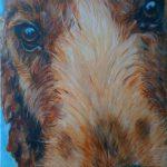 Bennie 2012 30x40 cm acryl op linnen