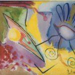 Eerst, aquarel, 6x9 inch, 1995