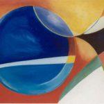 Manta Ray detail I, acryl op linnen tt. 55 x 205 cm, 1998