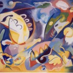 Storm, olie linnen, 30x40 inch, 1999