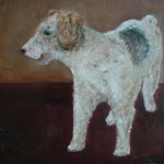 Zino hondportret, olie linnen, 30x40cm, 2003